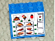 Part No: BA020pb02  Name: Stickered Assembly 4 x 2 x 3 with Food Vending Machine Pattern (Sticker) - Sets 4560 / 4561 - 3 Bricks 2 x 4
