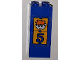 Part No: BA063pb01  Name: Stickered Assembly 2 x 2 x 4 with Boy and Number 5 Pattern (Sticker) - Set 3681 - 4 Bricks 2 x 2