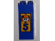 Part No: BA063pb02  Name: Stickered Assembly 2 x 2 x 4 with Girl and Number 5 Pattern (Sticker) - Set 3681 - 4 Bricks 2 x 2