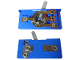 Part No: bb0043d  Name: Electric 4.5V Battery Box 6 x 11 x 3 1/3 Type III, Switch with hole for Connectors with Middle Pin
