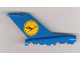 Part No: bb0096pb02  Name: Tail Vintage with Lufthansa Pattern (Stickers) - Set 1560-2