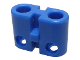 Part No: bb0236b  Name: Electric, Connector, 2-Way Male Rounded Narrow Type 2 with Cross-Cut Pins - Root