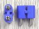 Part No: bb0236bc01  Name: Electric, Connector, 2-Way Male Rounded Narrow Type 2 with Cross-Cut Pins