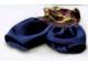 Part No: bb0246pb01  Name: Duplo Doll Cloth Pants Plain with Rainbow Top