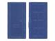 Part No: bdoor01  Name: Door for Slotted Bricks