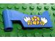 Part No: fabah1pb01  Name: Fabuland Car Door Left With Flowers Pattern (Sticker) - Set 3635