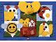 Part No: pri075  Name: Primo Cloth Playmat with Pockets and Elephant