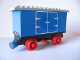 Part No: x488c01pb03  Name: Train Battery Box Car with Switch and Red Wheels and Cargo Doors Pattern on Both Sides (Stickers) - Set 7720