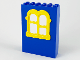 Part No: x637c02  Name: Fabuland Building Wall 2 x 6 x 7 with Squared Yellow Window