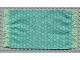 Part No: x967px1  Name: Scala Cloth Rug with Green Squares Pattern
