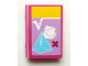 Part No: 33009pb043  Name: Minifigure, Utensil Book 2 x 3 with Math Textbook with Geometric Figures Pattern (Sticker) - Set 41005