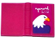 Part No: 33009pb052  Name: Minifigure, Utensil Book 2 x 3 with Eagle Head Pattern (Sticker) - Set 41122