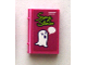 Part No: 33009pb058  Name: Minifigure, Utensil Book 2 x 3 with 'Scary Stories' and Ghost with Speech Bubble Pattern (Sticker) - Set 41335