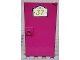 Part No: 60616pb050  Name: Door 1 x 4 x 6 with Stud Handle with '37' Sign Pattern (Sticker) - Set 41095