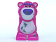 Part No: 90187c01pb02  Name: Animal, Body Part Bear Middle 'Lotso' with Dirt Pattern