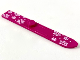 Part No: 90509pb01  Name: Minifigure, Utensil Ski 6L with White Snowflakes Pattern