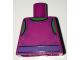 Part No: 973pb2437  Name: Torso Spider-Man Tank Top over Bright Green Chest with Dark Purple Belt Pattern