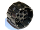 Part No: 22410  Name: Wheel Hard Plastic, Treaded with 7 Pin Holes (37mm D. x 22mm)
