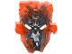 Part No: 24164pb02  Name: Bionicle Mask Umarak Hunter with Marbled Trans-Neon Orange Pattern