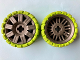 Part No: 47349c04  Name: Wheel 72 x 34 with Lime Tire 94 x 40 Balloon Offset Tread