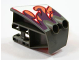 Part No: 49818pb01  Name: Technic, Panel RC Car Mudguard Front, Left with Flame Pattern (Sticker) - Set 8676