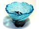 Part No: 50663pb05  Name: Tornado Spiral with Glitter Trans-Light Blue Top Pattern