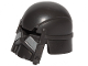 Part No: 59434pb01  Name: Minifigure, Headgear Helmet SW Knight of Ren with Black Visor and Silver Stripes Pattern