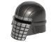 Part No: 65433pb01  Name: Minifigure, Headgear Helmet SW Knight of Ren with Silver Grid Pattern