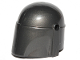 Part No: 87610  Name: Minifigure, Headgear Helmet with Holes, SW Mandalorian, Plain
