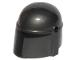 Part No: 87610pb09  Name: Minifigure, Headgear Helmet with Holes, SW Mandalorian with Black Visor Pattern