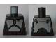 Part No: 973pb3007  Name: Torso SW Armor Plates Metallic Silver Elaborate Pattern (Jango Fett mark 2)