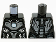 Part No: 973pb3955  Name: Torso Armor, Dark Silver Plates, Silver Trim and Metallic Blue Circle Arc Reactor Pattern