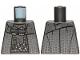 Part No: 973pb3976  Name: Torso SW Plaid Robe, Belts and Thermal Detonators Pattern