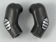 Part No: 981982pb145  Name: Arm, (Matching Left and Right) Pair with Silver Elbow Pads Pattern