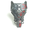 Part No: 98569pb07  Name: Hero Factory Full Torso Armor with Silver and Red Mechanical Pattern (Splitface)