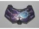 Part No: 98603pb007  Name: Large Figure Chest Armor Small with Chi and Dark Purple (Raven) Pattern