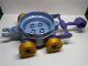 Part No: 44403c03  Name: Duplo Cart with Wheels and Pincer