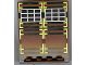 Part No: 30102px1  Name: Door 2 x 5 x 5 Swivel, Flat Base with Ninja Pattern