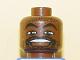 Part No: 3626bpb0142  Name: Minifigure, Head NBA Karl Malone Pattern - Blocked Open Stud