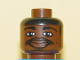 Part No: 3626bpb0145  Name: Minifigure, Head NBA Tracy McGrady Pattern - Blocked Open Stud