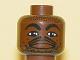 Part No: 3626bpb0149  Name: Minifigure, Head NBA Kevin Garnett Pattern - Blocked Open Stud