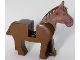 Part No: 4493c01pb03  Name: Horse with Black Eyes, Red Bridle Pattern