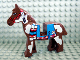 Part No: 4493c01px2  Name: Horse with Blue Blanket, Right Side Red Circle Pattern