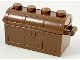 Part No: 4738ac01  Name: Container, Treasure Chest Bottom - Slots in Back with Same Color Container, Treasure Chest Lid - Thick Hinge (4738a / 4739a)