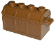 Part No: 4738bc01  Name: Container, Treasure Chest Bottom - No Slots in Back with Same Color Container, Treasure Chest Lid - Thin Hinge (4738b / 4739b)