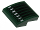 Part No: 15068pb049  Name: Slope, Curved 2 x 2 with Speeder Bike Grille Pattern (Sticker) - Set 75141