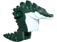 Part No: 15729pb01  Name: Torso/Head Alien, Leatherhead White Chest Pattern