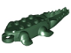 Part No: 18904  Name: Animal, Body Part Alligator / Crocodile Middle with 10 Lower Teeth