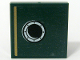 Part No: 3068bpb0666  Name: Tile 2 x 2 with Groove with Gold Stripe and Porthole Pattern Model Right, Left Panel (Sticker) - Set 10194