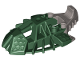 Part No: 53549pb02  Name: Bionicle Foot Toa Inika Elliptical with Marbled Pearl Light Gray Pattern (53551)